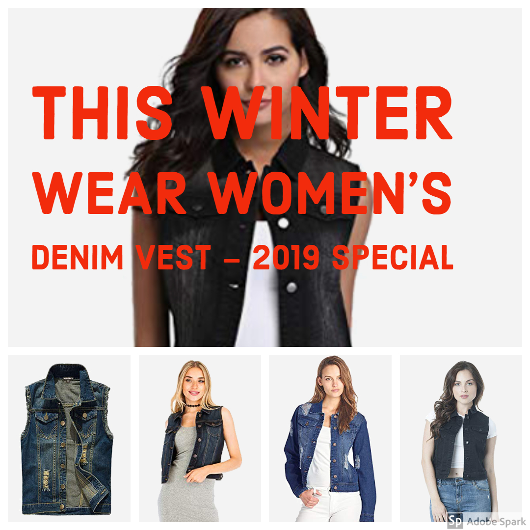 This Winter Wear Women's Denim Vest