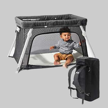 baby travel bed review