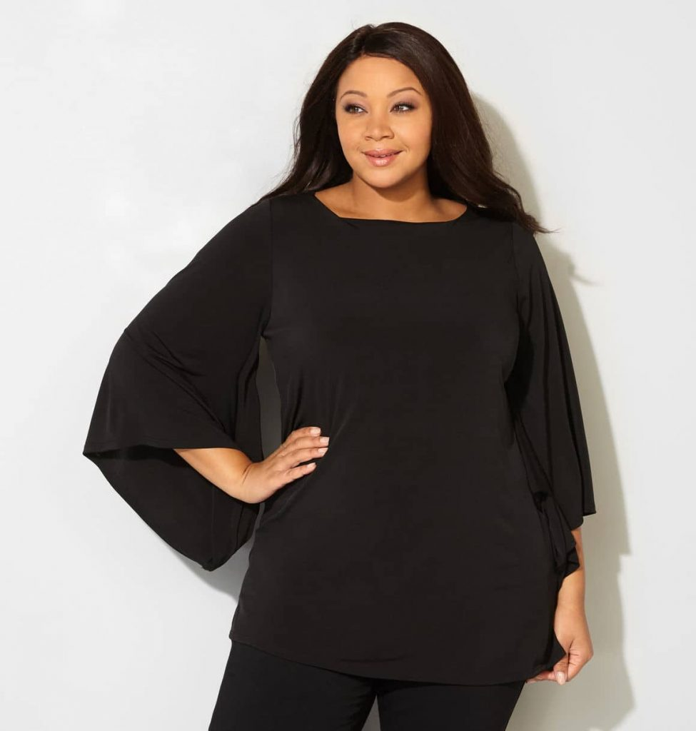 women's bell sleeve tops