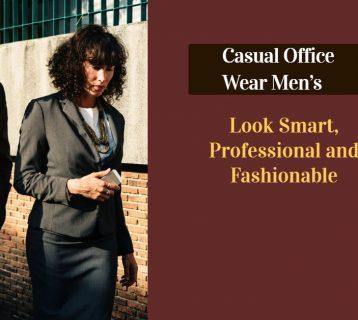 Casual Office Wear Men's